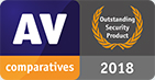 AV comparatives Outsanding Security Product 2018